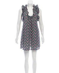 Étoile Isabel Marant - Sleeveless Printed Dress - Lyst