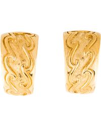 Dior - Tapered Clip-on Earrings Gold - Lyst