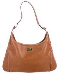e6f6a553768 Ferragamo - Grained Leather Hobo Brown - Lyst