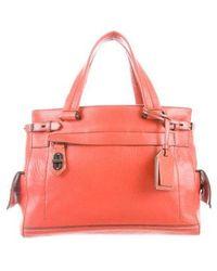 Reed Krakoff - Leather Handle Bag Terracotta - Lyst