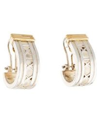 Tiffany & Co. - Large Atlas Hoop Earrings Yellow - Lyst
