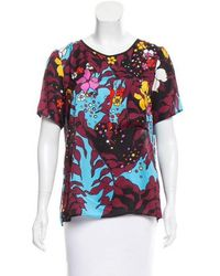 TOME - Surplice Printed T-shirt W/ Tags Multicolor - Lyst