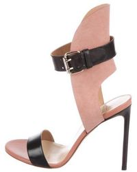 Francesco Russo - Leather Ankle-strap Sandals - Lyst