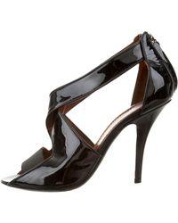 Givenchy Patent Leather Sandal pcLIQTodTa