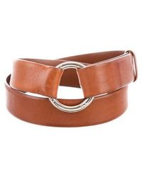 Loro Piana - Leather D-ring Belt Cognac - Lyst