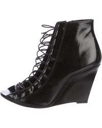 Givenchy - Cage Wedge Booties - Lyst