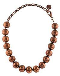 Zimmermann - Bead Necklace Rose - Lyst