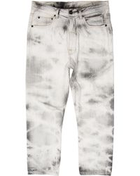 Rick Owens Drkshdw - Cropped Torrence Jeans W/ Tags - Lyst