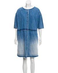 Marc Jacobs - Oversize Denim Dress - Lyst