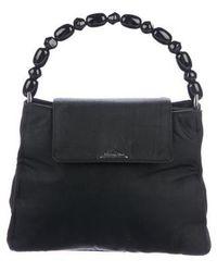 Dior - Nylon Handle Bag Black - Lyst