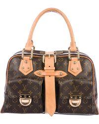 Louis Vuitton - Monogram Manhattan Gm Brown - Lyst