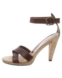 Kors by Michael Kors - Kors By Michael Leather Open-toe Sandals - Lyst