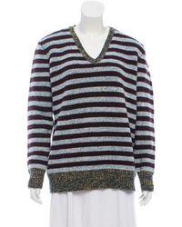 Trademark - Wool Striped Sweater - Lyst