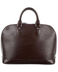 Louis Vuitton - Epi Alma Pm Brown - Lyst