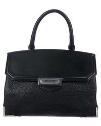 Alexander Wang - Large Marion Satchel Black - Lyst