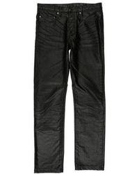 1fe7895c Biker Biker Biker Balmain Brown Brown Brown in Jeans Brown Wax Men for  coated Lyst vwxnq6RFF