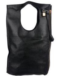 Tom Ford - Alix Fold-over Bag Black - Lyst