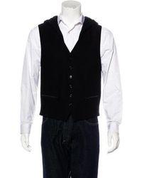 Ann Demeulemeester - Hooded Wool & Linen Vest - Lyst