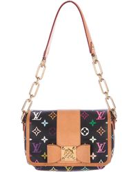 Louis Vuitton - Monogram Multicolore Patti Bag Black - Lyst