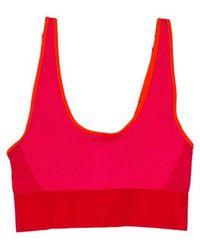 adidas By Stella McCartney - Seamless Striped Sports Bra W/ Tags - Lyst
