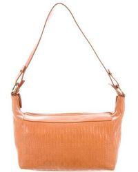 Blumarine - Embossed Leather Bag Tan - Lyst