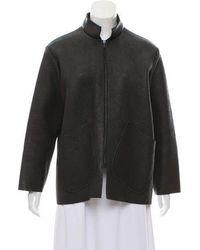 Samuji - Leather Jacket Black - Lyst