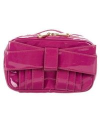 Z Spoke by Zac Posen - Patent Leather Cosmetic Bag Violet - Lyst