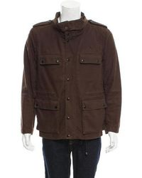 3.1 Phillip Lim - Twill Utility Jacket Olive - Lyst