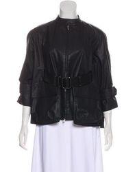 Kaufman Franco - Belted Coated Jacket - Lyst