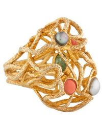 Alexis Bittar - Intertwined Bombé Ring Gold - Lyst