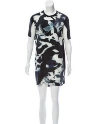 Tess Giberson - Printed Mini Dress - Lyst