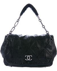 Chanel - Origami Accordion Flap Bag Black - Lyst