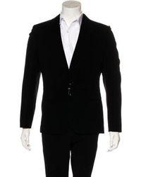 Jean Paul Gaultier - Wool Zip-accented Blazer - Lyst