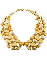 Kate Spade - Plaza Athenee Collar Necklace Gold - Lyst