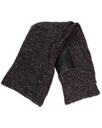 Alexander Wang - Heavyweight Knit Scarf Grey - Lyst