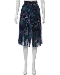 Timo Weiland - Plisse Knee-length Skirt Multicolor - Lyst