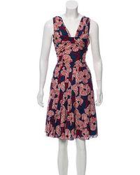 Boutique Moschino - Sleeveless Knee-length Dress - Lyst