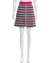 Chanel - 2017 Fantasy Tweed Skirt W/ Tags White - Lyst