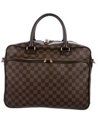 Louis Vuitton - Damier Ebene Icare Laptop Bag Brown - Lyst
