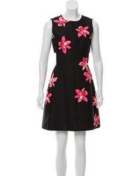 5308602029db Lyst - Kate Spade Poppy Sweater Dress in Black