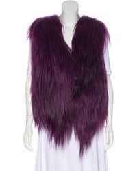 Helen Yarmak International - Goat Fur Vest - Lyst