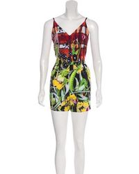 Clover Canyon - Low-rise Printed Jumpsuit Multicolor - Lyst