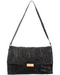 1b0504523d27 Stella McCartney - Patent Vegan Leather Beckett Bag Black - Lyst