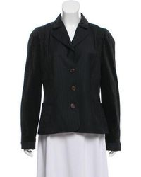 Christian Lacroix - Wool Structured Blazer - Lyst