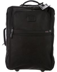 Tumi - Leather-trimmed Carry-on Bag - Lyst