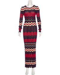 Ronny Kobo - Semi-sheer Maxi Dress - Lyst