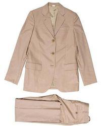 Helmut Lang - Vintage Woven Two-piece Suit Tan - Lyst