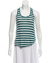 Closed - Stripe Linen Top - Lyst