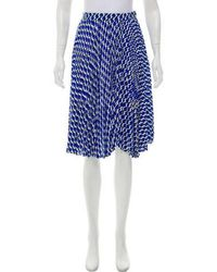 Anna Sui - Printed Knee-length Skirt - Lyst