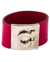 Ferragamo - Gancio Bracelet Silver - Lyst
